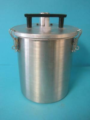Polarware 8Y-0 8 Quart Vacuum Chamber Suction Filter Chamber  Stainless Steel