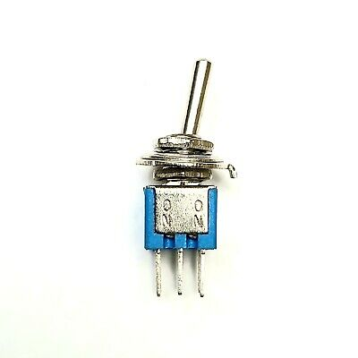 Pack of 5 On/On PCB Mount Sub Miniature Toggle Switch for Micro:bit Raspbery PI