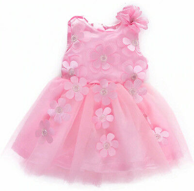Luvabella Doll Clothes - Pink Flower Detail Dress