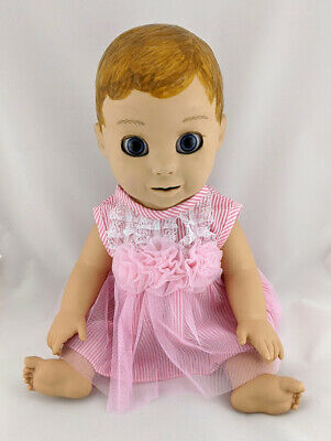 Luvabella Doll Clothes - Pink Lace Detail Dress