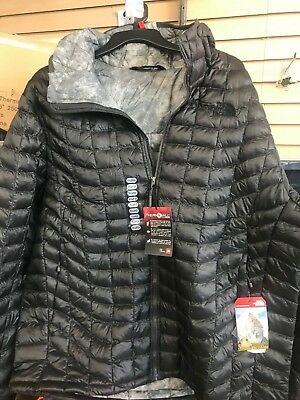 NEW MEN S THE NORTH FACE THERMOBALL JACKET Asphalt Grey Fusebox Grey NWT!!  XL 2bd1074f11d4