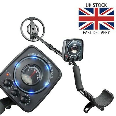 Amzdeal Lightweight Metal Detector with All-Metal & Discrimination Function 🇬🇧