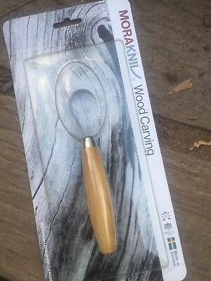 MORA Wood Carving Spoon Bowl Knife 164 Sweden made
