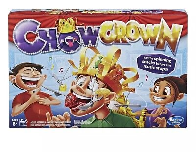 Chow Crown Game Family Fun Filled Of Suspense Musical Food Challenge. New Sealed
