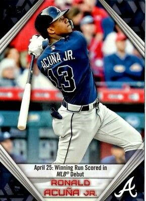 2019 Topps Series 1 Pick Your Card Ronald Acuna Highlights Wal-Mart Exclusive