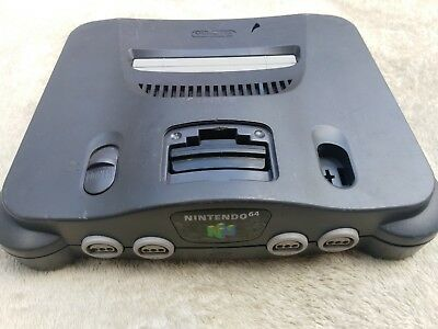 Nintendo 64 N64 Only Console Games Entertainment Classic TESTED & WORKS NTSC