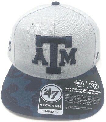 promo code 00ab8 61f39 Texas A M Aggies Mens Snapback Hat AM A and M A   M 47 Brand NCAA