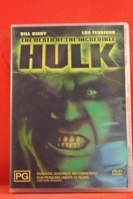 The Death of the Incredible Hulk - DVD Movie Aus Region 4 Like New