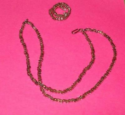 Commuter Necklace Set Doll Jewelry Made For Vintage Barbie *Reproduction*