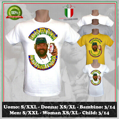 T-Shirt Solo Puffin Marmellata Bud Spencer & Terence Hill Tee Uomo Donna Bambino