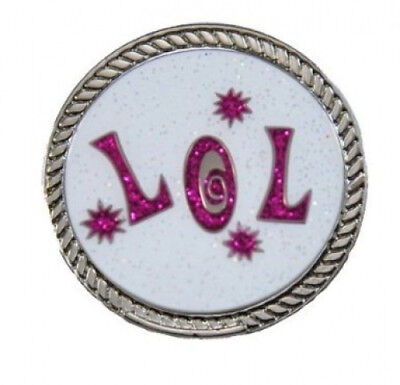 Navika KICKS CANDY LOL (Laugh Out Loud) Glitzy Ball Marker with Round Shoe
