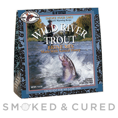Trout Brine - Hi Mountain Trout Brine - Fish & Seafood Smoking  FREE SHIPPING
