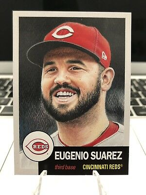 Topps Living Set #128 Eugenio Suarez Reds *IN HAND AND READY TO SHIP*