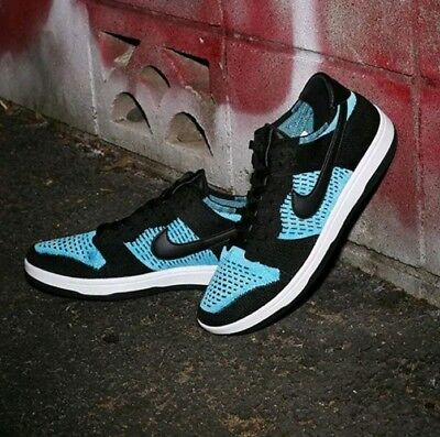 4102c00d44cc58 Nike Dunk Flyknit - Mens UK 10 EUR 45 - Trainers Sneakers Brand New 917746-
