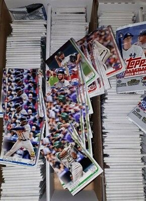2019 Topps Series 1 Baseball Cards UPick From List Lot 1-175 Finish Set Team