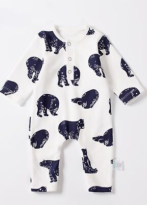 NEW - Lait & Co - Bear Playsuit - Baby Outfit - Babywear