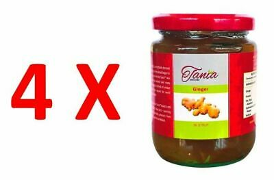 4X Tania Ginger in Syrup 270g