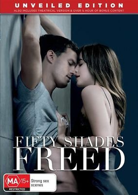 Fifty Shades Freed (DVD, 2018)