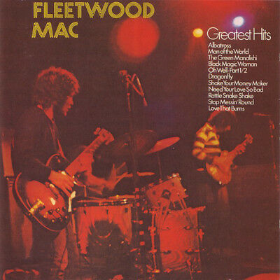 Fleetwood Mac ‎– Greatest Hits 12 Track CD Album Best Of Peter Green Albatross