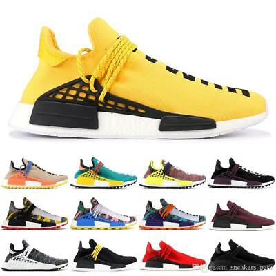 f844e4475c575 2019 NMD Mens Running Shoes Pharrell Williams Sample Sport Sneakers 40-46