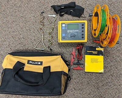 Fluke 1625 Advanced Earth / Ground Tester Geo, Good Condition, See Details