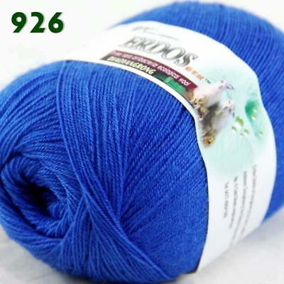 Sale 1Skein x50g Soft Acrylic Cashmere Wool Stoles Hand Knit Crochet Yarn 26