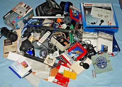 #b1 - A Joblot Of Camera  / Photo Bits And Accessories