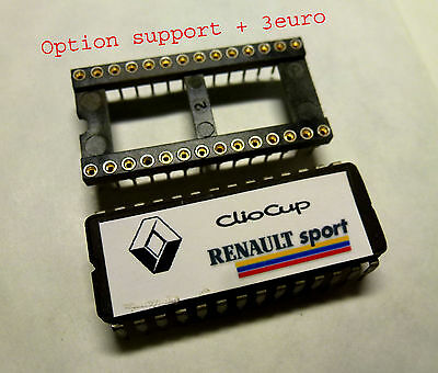 Eprom Puce renault clio 16s, 16v , version CUP