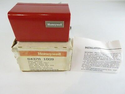 New Honeywell S437A 1009 Sail Switch 2-Wire Line Volt 120V 5A S437A1009