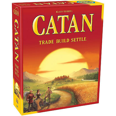 Catan 5th Edition Trade Build Settle Card and Board Kids Game