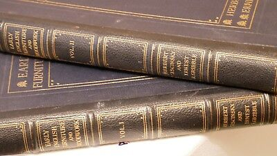 Rare Antique Books Vol 1 & 2 Early English Furniture and Woodwork. *Free UK Del'