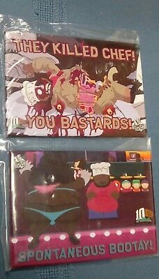 """South Park Chef MAGNETS 3.5"""" Comedy Central  MINT CONDITION"""
