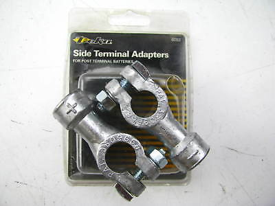 pair Battery Terminal Adapters from top to side by Deka