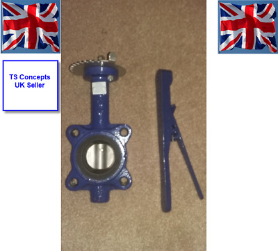 BOSS Butterfly Valve FIG-36530605 Lugged Flange PN16 Pressure 16Bbar Disc 316SS