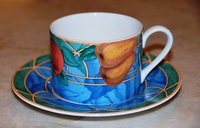 Victoria & Beale Forbidden Fruit Cup and Saucer(s) #9024