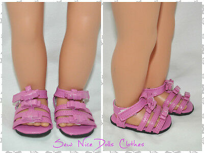 "Our Generation American Girl Dolls Journey 18"" Doll Clothes Pink Sandals"