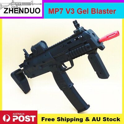 BingFeng V3 MP7 Nylon Gel Ball Blaster Water Crystal Bullet Darts Toy Adult Size