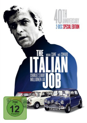 Italian Job Das Original 40Th - (German Import) Dvd Nuevo