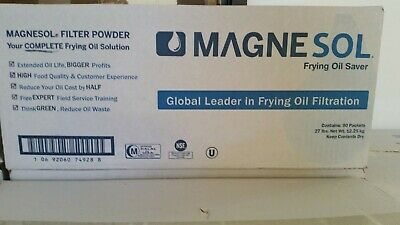 Magnesol Oil Filtration Powder Portion Pack 90 packets  | FREE DELIVERY