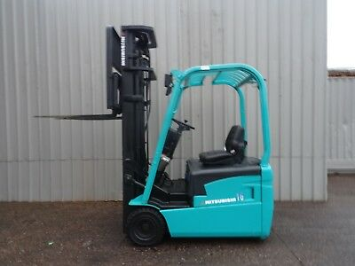 MITSUBISHI FB16NT 5950mm LIFT. USED ELECTRIC FORKLIFT TRUCK. (#2279)
