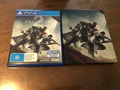 BRAND NEW Destiny 2 Steelbook Edition Sony Playstation 4 PS4 Game FAST POST AUS