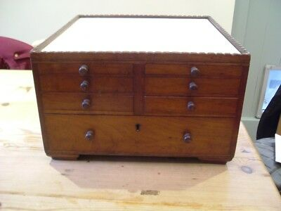 Victorin/Edwardian Dentist table top cabinet
