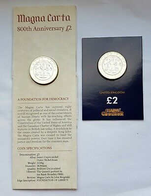 2015 2 x £2 Royal Navy Two Pound Coins - 4th & 5th Portraits BU & uncirculated.