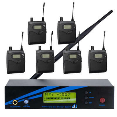 UHF Wireless In Ear Monitor System For Stage Monitoring Studio Recording