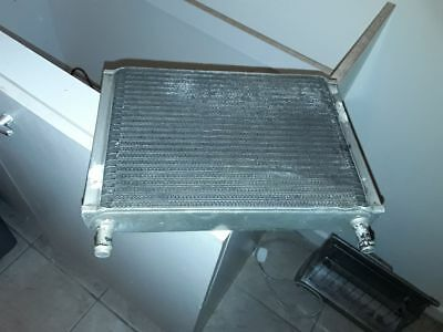 Rs escort oil cooler for a rally car