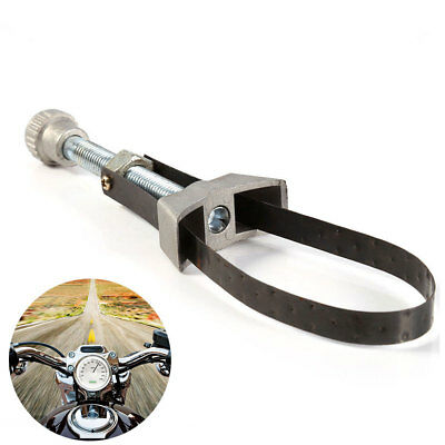 Car Engine Oil Filter Wrench Spanner Tool Key Steel Band Cap Screw Twist Type UK