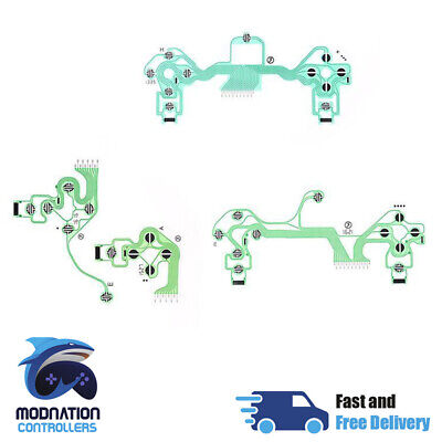 Conductive Film Replacement Button Ribbon Circuit Board For PS4 Controller