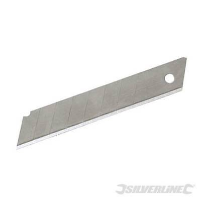 Silverline 861764 Snap-Off Blades 10pk 18mm