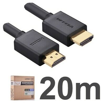 Premium HDMI Cable High Speed Audio Video Cord For Home Theater TV 1.4V 20M