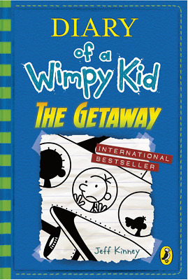 Fun Game Toy Gift Diary of a Wimpy Kid The Getaway Book 12 Paperback for Child